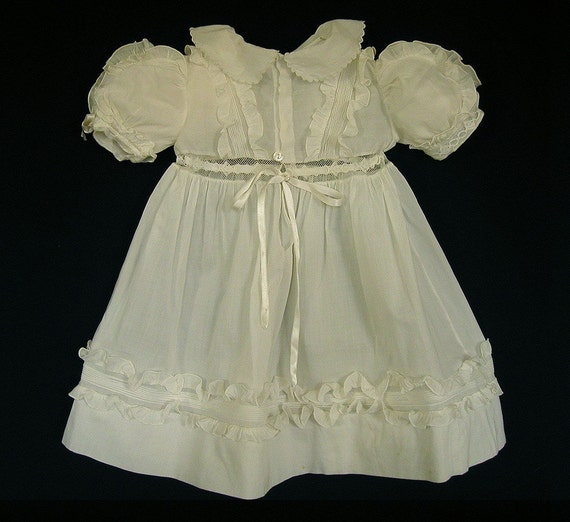 Antique Baby Doll Dress Victorian Edwardian Vintage