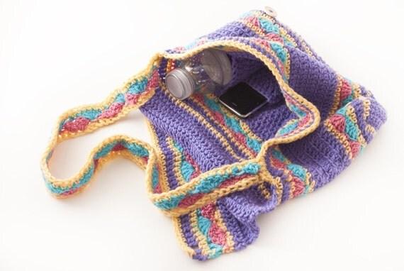 Messenger Bag, Lavender