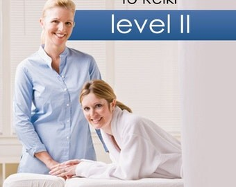 Accredited Reiki Level II Course, homestudy course with certification available for immediate download