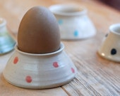 Hand-thrown Ceramic Egg Cup