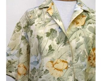 Vintage Kenzo 1980s Camp shirt