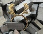 moose antler ring