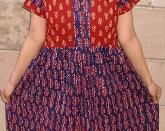 Earthy feel ..........dress 2