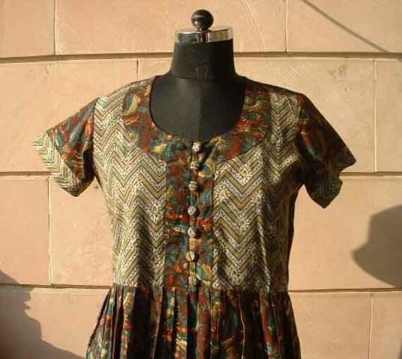 Earthy feel ..........dress 10