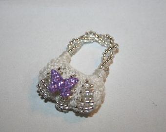 Angel - mini purse charm