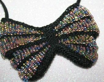 Butterfly Amulet Purse Necklace