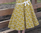 womens sewing Pattern vintage 1950s circle Spin Skirt 1209