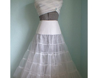Sewing Pattern 1950s lingerie Crinoline Petticoat Bridal slip 1208