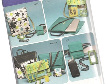 SIMPLICITY PATTERN 4391 camera case, messenger bag, laptop bag, cell phone case, new and uncut