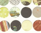 Envelope Seals Stickers - Academy Collection (20) One Inch