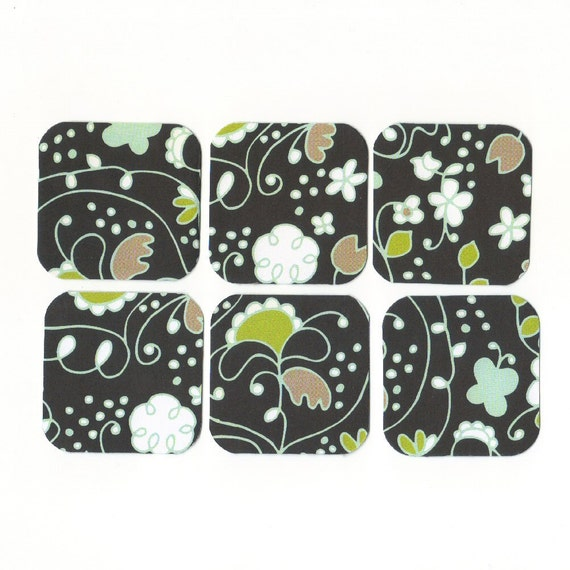 Floral I Mini Note Cards (set of 6) Blank Mini Cards, Gift Cards, Mini Notes 1 Dollar Sale