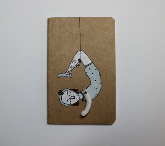 Moleskine Journal Blank - the daring young girl