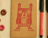 Nerdy Bunny Printed Moleskine small