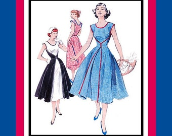 1952 -Famous Walk Away Wrap Dress -Sewing Pattern -Easy To Make- A Dream To Wear-NEW-Uncut -Size 16-22