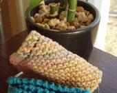 Knit Washcloths Set of 2