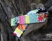 Victorious Vixen Scrappy Plush Zebra Quilted Camera Strap Cover