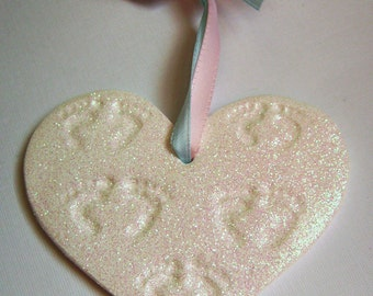 Angel Prints~ Loss Ornament ~Honoring 5 babies