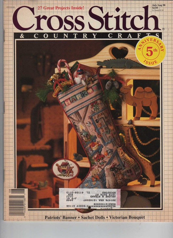 Better Homes And Gardens Cross Stitch And Country Crafts