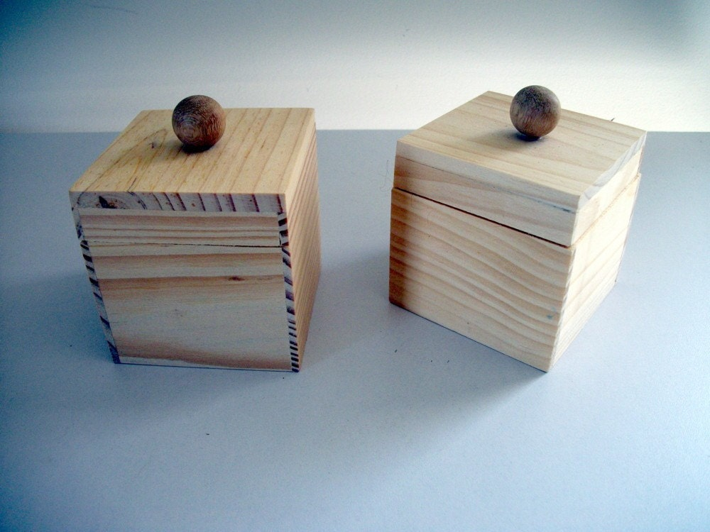 small unfinished wooden boxes with lids. Black Bedroom Furniture Sets. Home Design Ideas
