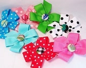 Extra Bow for XSmall or Small Dog Collar--Your Choice of Color/Size