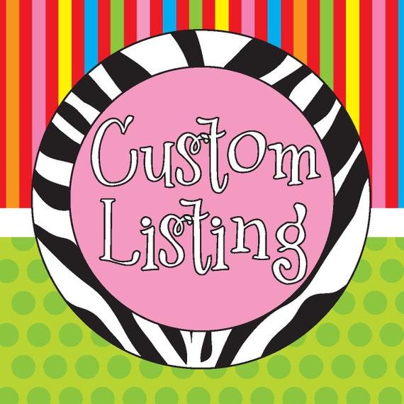 Custom Listing for Meredith
