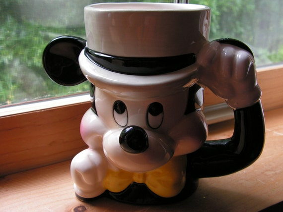 Vintage Disney Mickey Mouse Mug Made in Japan