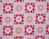 1 Yard of Pink Sugar Floral from Quilted Fish & Riley Blake Fabrics