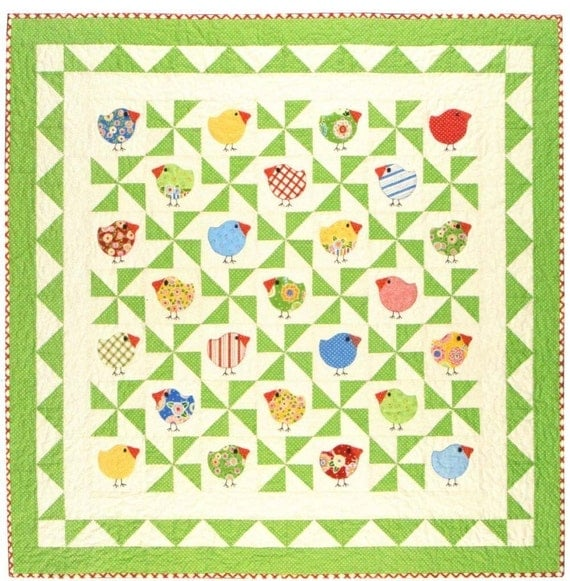 Chubby Chicks Quilt Pattern