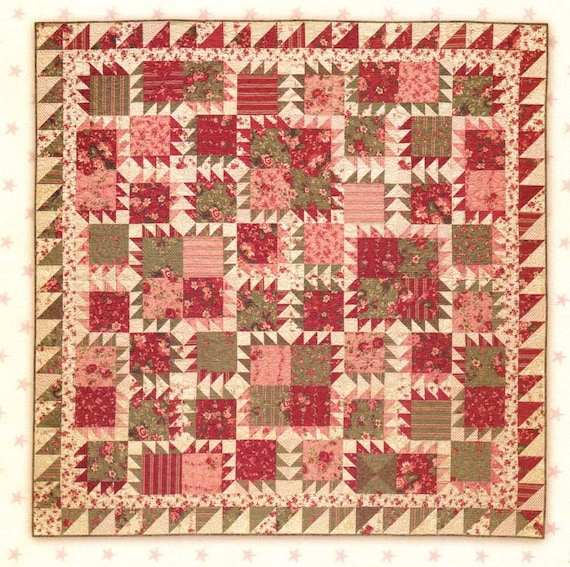 Sale lucille bear paw quilt pattern by miss rosies quilt co