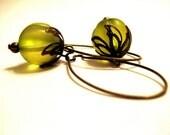 Mystic Melon Glow Earrings
