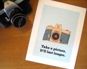 Take a Picture Art Printables Print