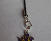 Purple Dragon Phone Strap