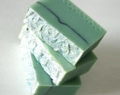 Aqua Di Gio (type) Soap One Handmade Cold Process Soap With Shea Butter 4 to 5 Ounce  Body Bar