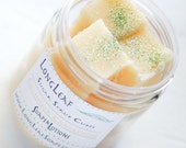 Cucumber Cantaloupe Sugar Scrub Cubes One-4 Ounce Jar