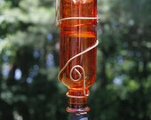 Orange Mini Hummingbird Feeder