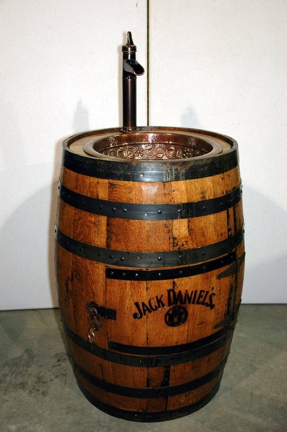 Jack Daniels Barrel Sink