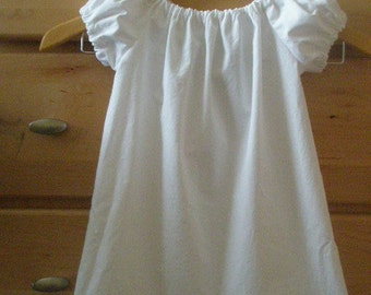 Childs peasant DRESS or TOP  You Choose color and size up to 12 years