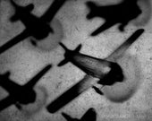 Toy Plane Formation, 5x7 fine art print