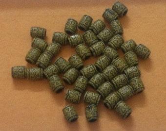 46pc of Egyptian Drum Bead