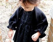 swirly eyelet embroidery dress