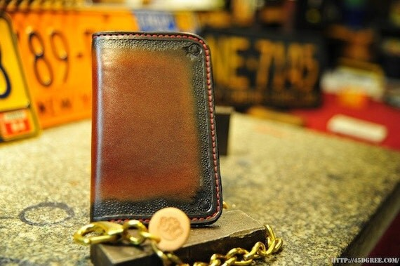 LIght Brown Super Squire Chain Wallet