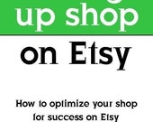 Setting up Shop - Getting the most from your Etsy Shop
