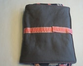 Diaper tote and changing pad