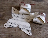 Vintage Sheet Music Gift Boxes/Ornaments