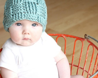 The Taylor - Woven Beanie Photo Prop.