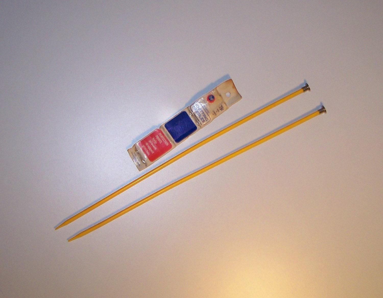 Knitting Needle Sizes Old And New : Items similar to sale vintage boye knitting needles in