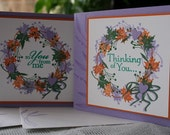 TWO CARDS - RESERVED for LAURENk8