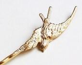 Freedom -  Shallow Birdie, Gold Bobby Pin