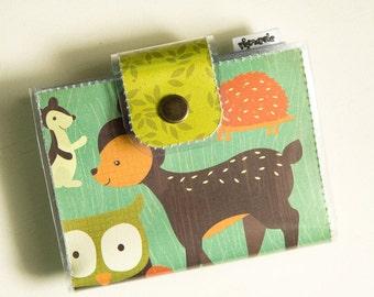 Owl Deer -Vinyl Bifold Card Wallet