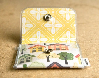 House and Tree - Change Purse